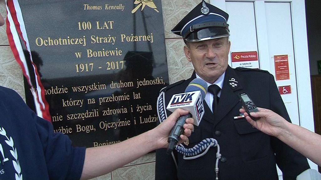100-lecie Ochotniczej Straży Pożarnej w Boniewie