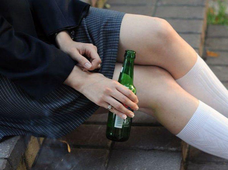 12-latka z kumpelką zniknęły z domu i nawarzyły sobie piwa