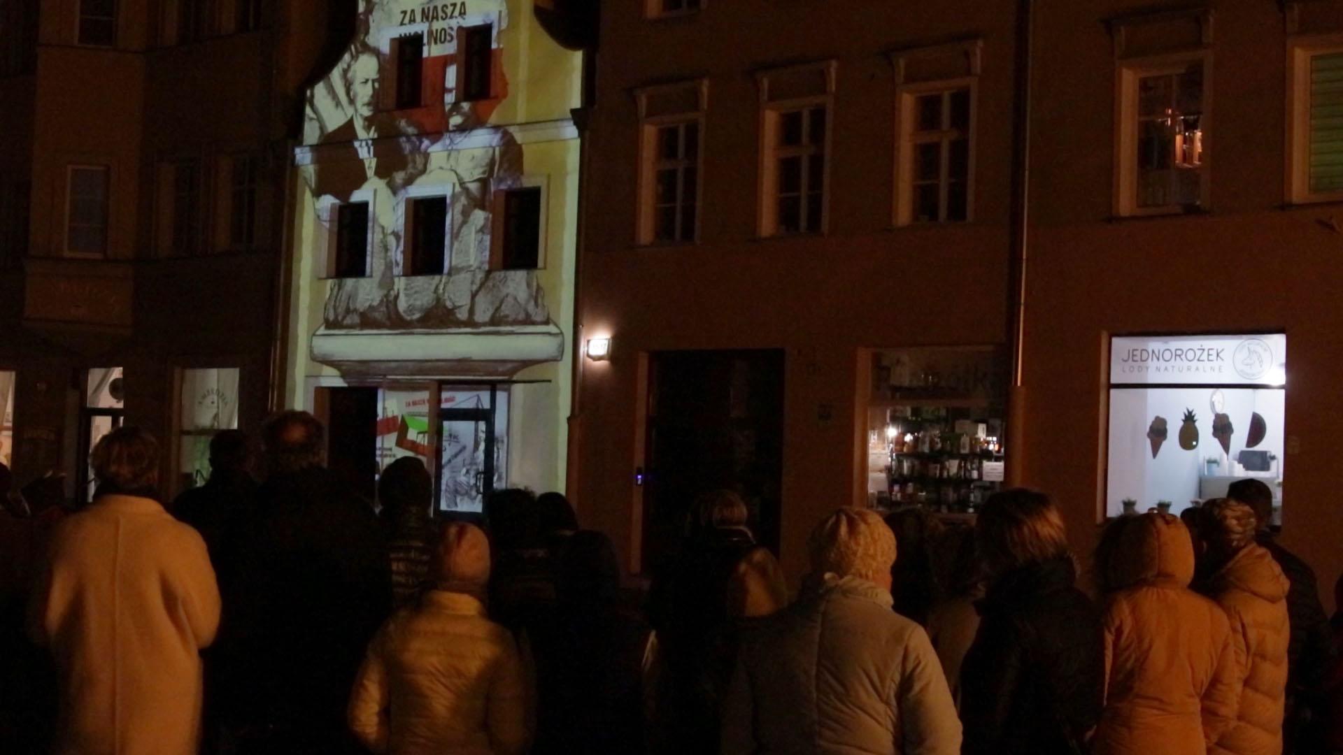 Multimedialny pokaz świateł na 100. rocznicę Obrony Włocławka
