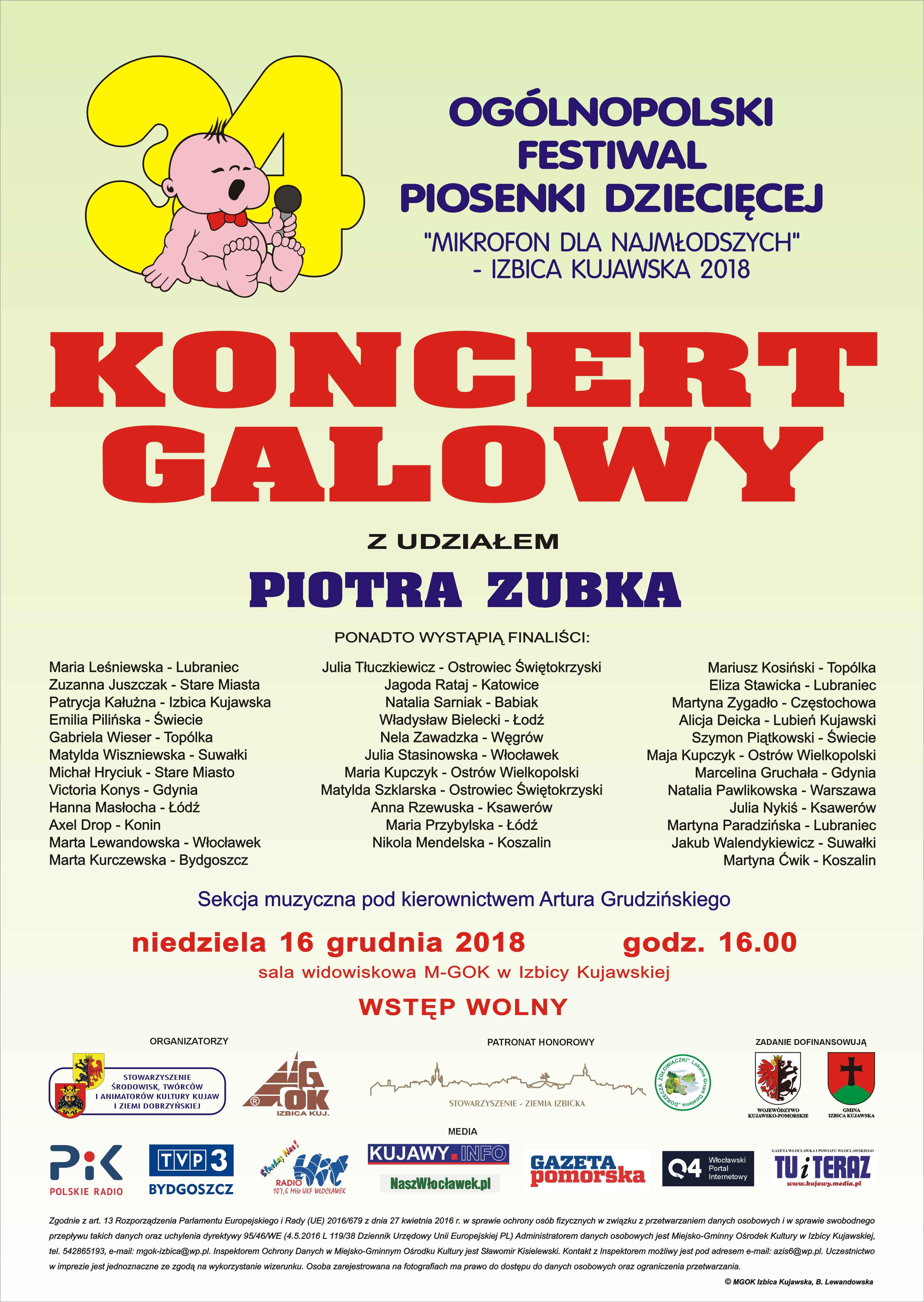 Ogólnopolski festiwal mikrofon dla najmłodszych