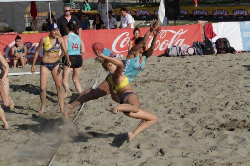 Beach soccer na Słodowie, wyciąg nad Czarnym