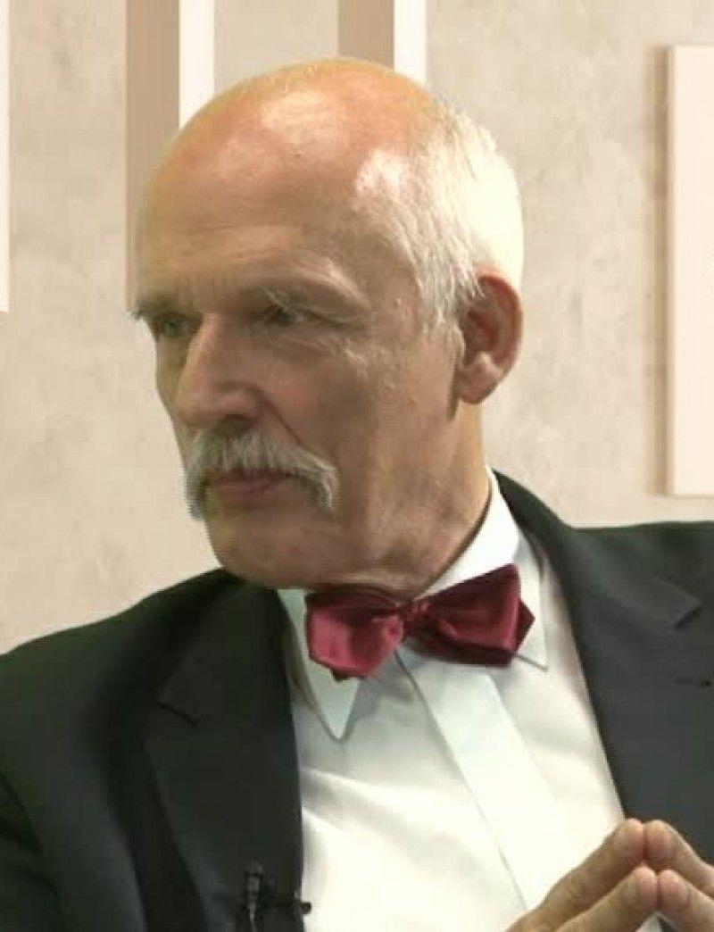 Czerwona kanapa – Janusz Korwin Mikke