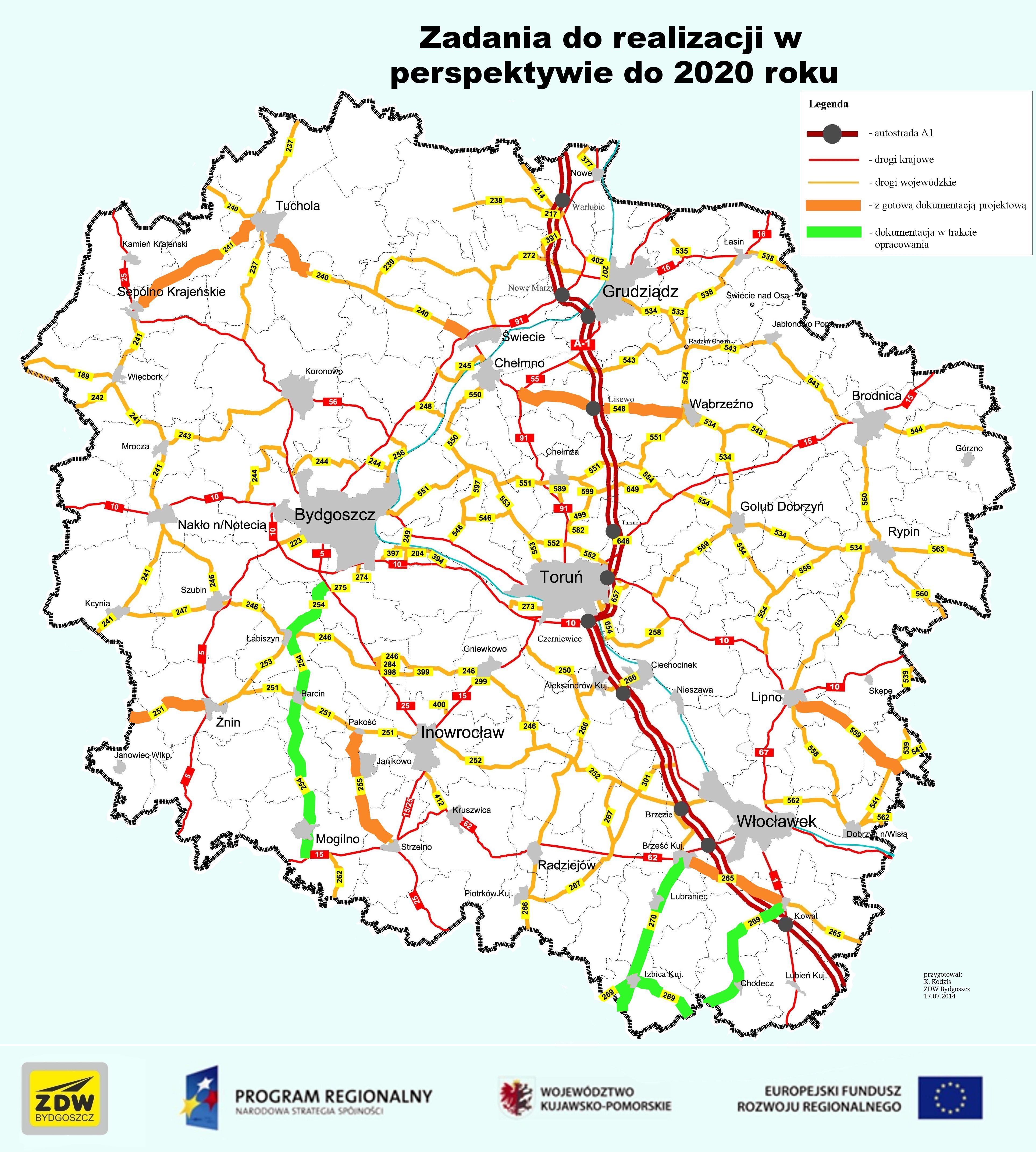 Droga Brześć Kujawski – Kowal będzie wyremontowana! Do… 2022 roku