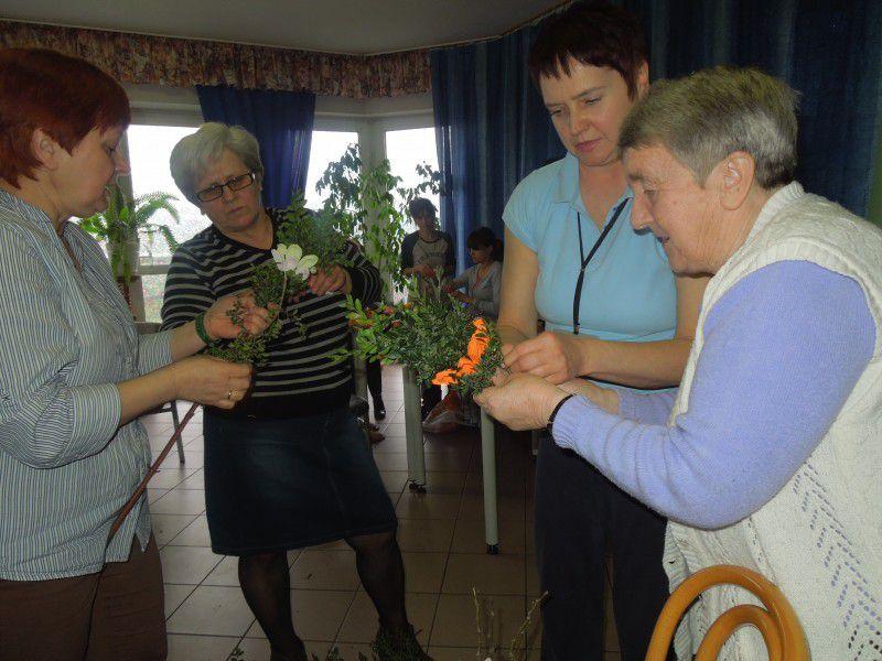 Gospodynie z KGW gościły w Domu Pomocy Społecznej