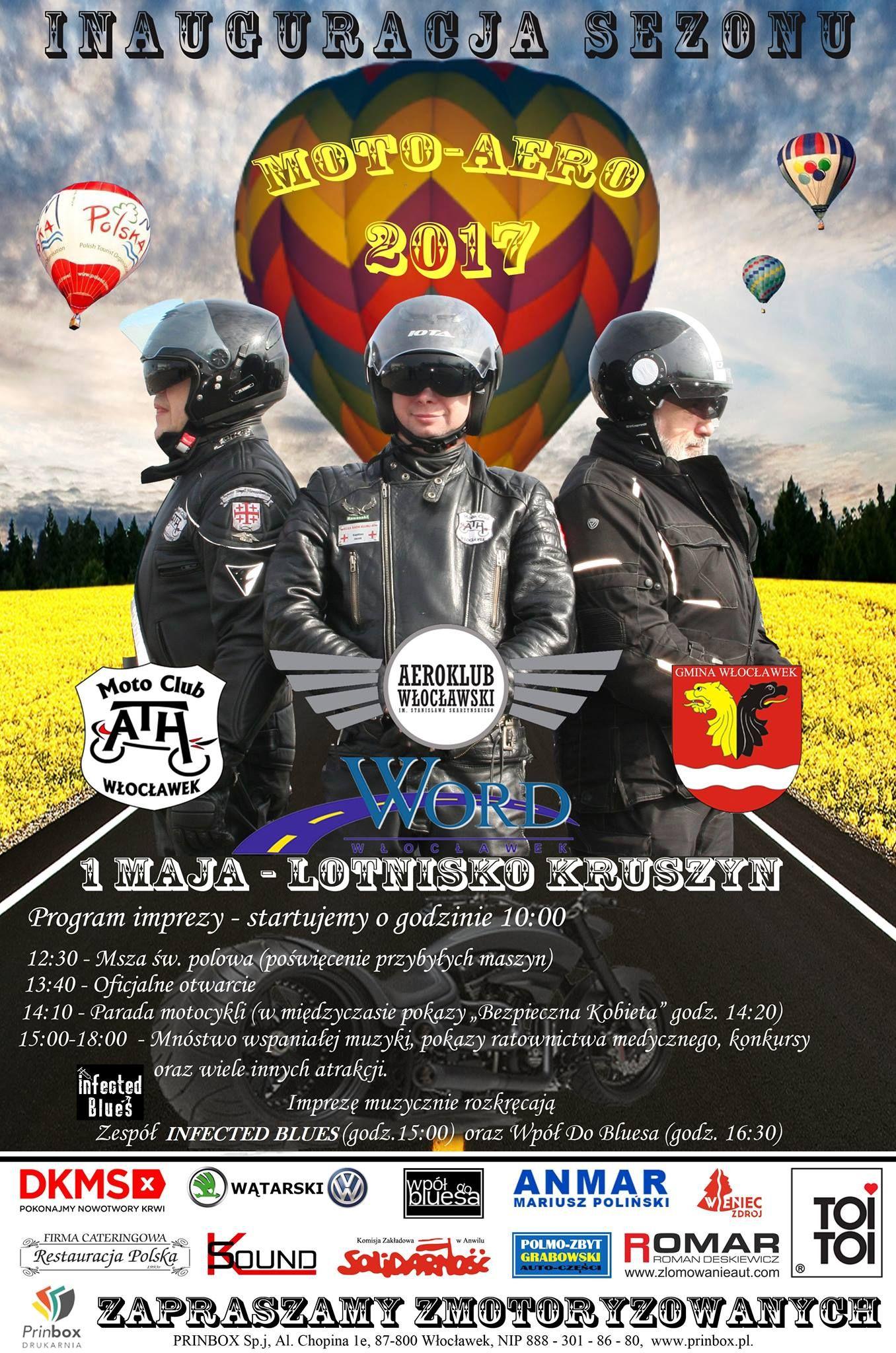 Inauguracja sezonu moto-aero