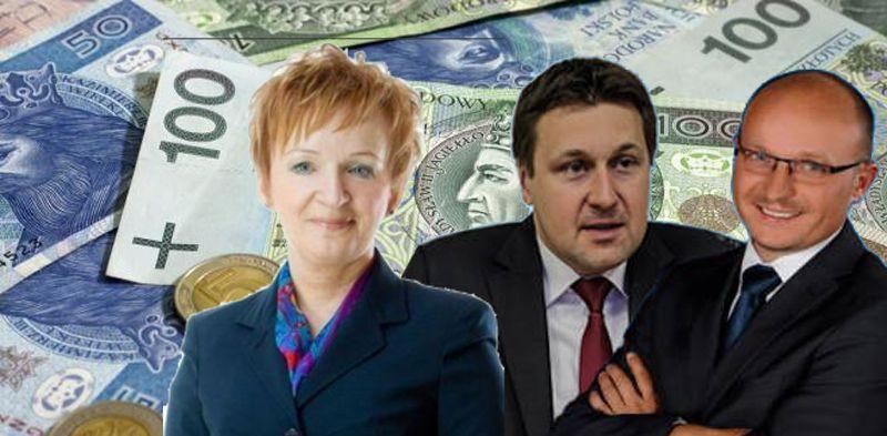 Kopaczewska remontuje, Wojtkowski oszczędza, Zbonikowski… spłaca kredyt