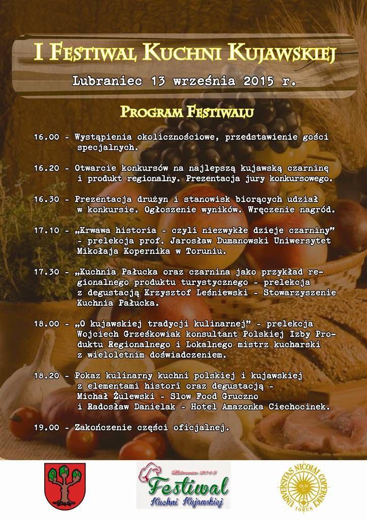 Lubraniec Dozynki I I Festiwal Kuchni Kujawskiej Kujawy Info