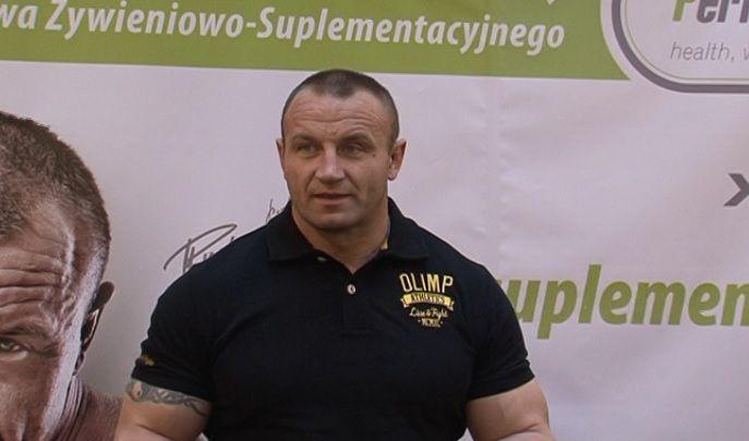 Mariusz Pudzianowski odwiedził Włocławek