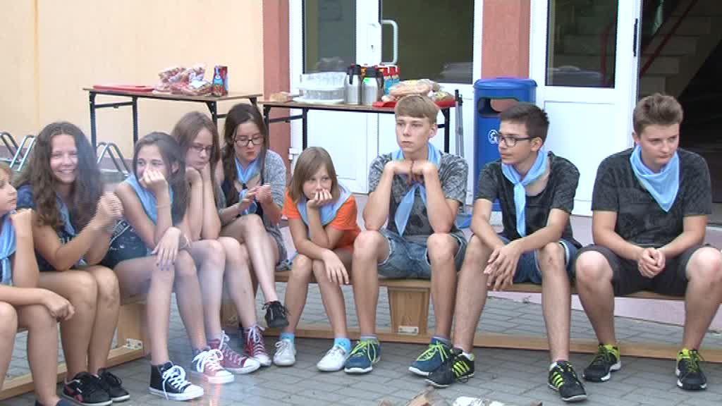 Młodzież z Ukrainy spędziła kilka dni w Choceniu, żal im było wracać do domu! Zobacz film!
