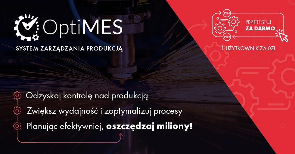 Optymalizacja produkcji z OptiMESem