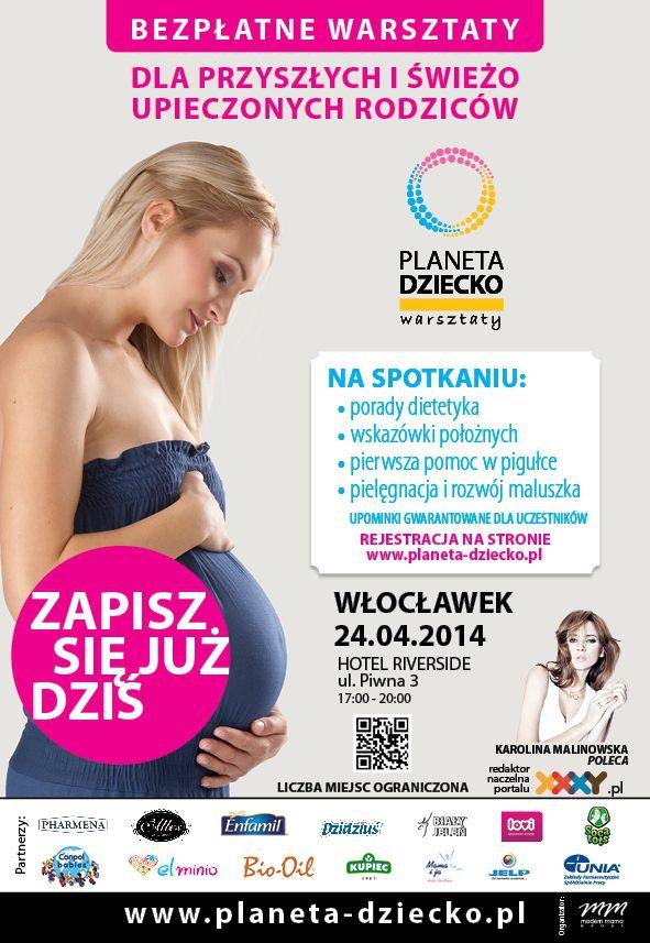 Planeta Dziecko-bezpłatne warsztatów dla przyszłych i obecnych  rodziców!