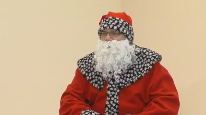 Rozmowa ze Świętym Mikołajem