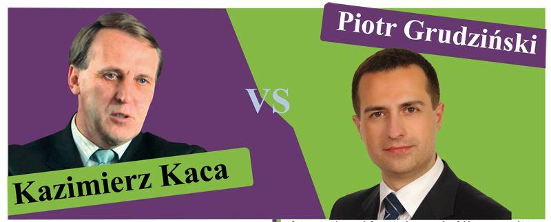 Starosta Kazimierz Kaca kontra radny Piotr Grudziński- kto ma rację?