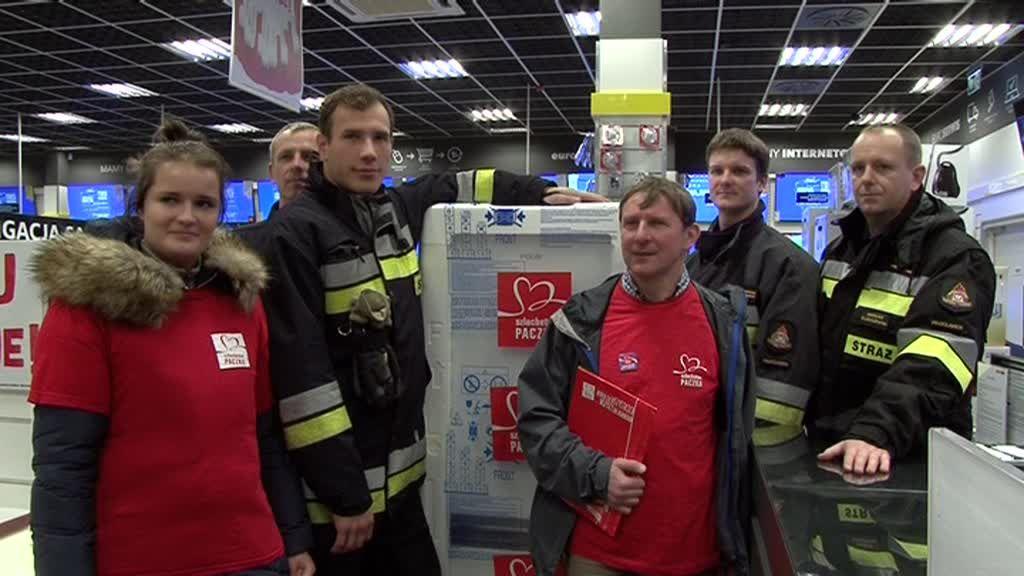 Szlachetny gest włocławskich strażaków