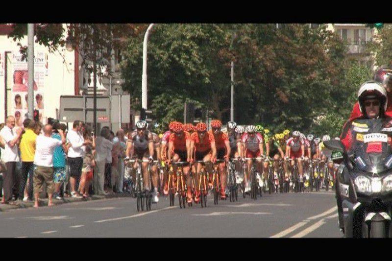 Tour de Pologne we Włocławku- wideo