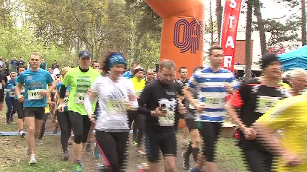 Trudna trasa im nie straszna, ponad 100 uczestników rywalizowało w Biegu Kujawiaka!