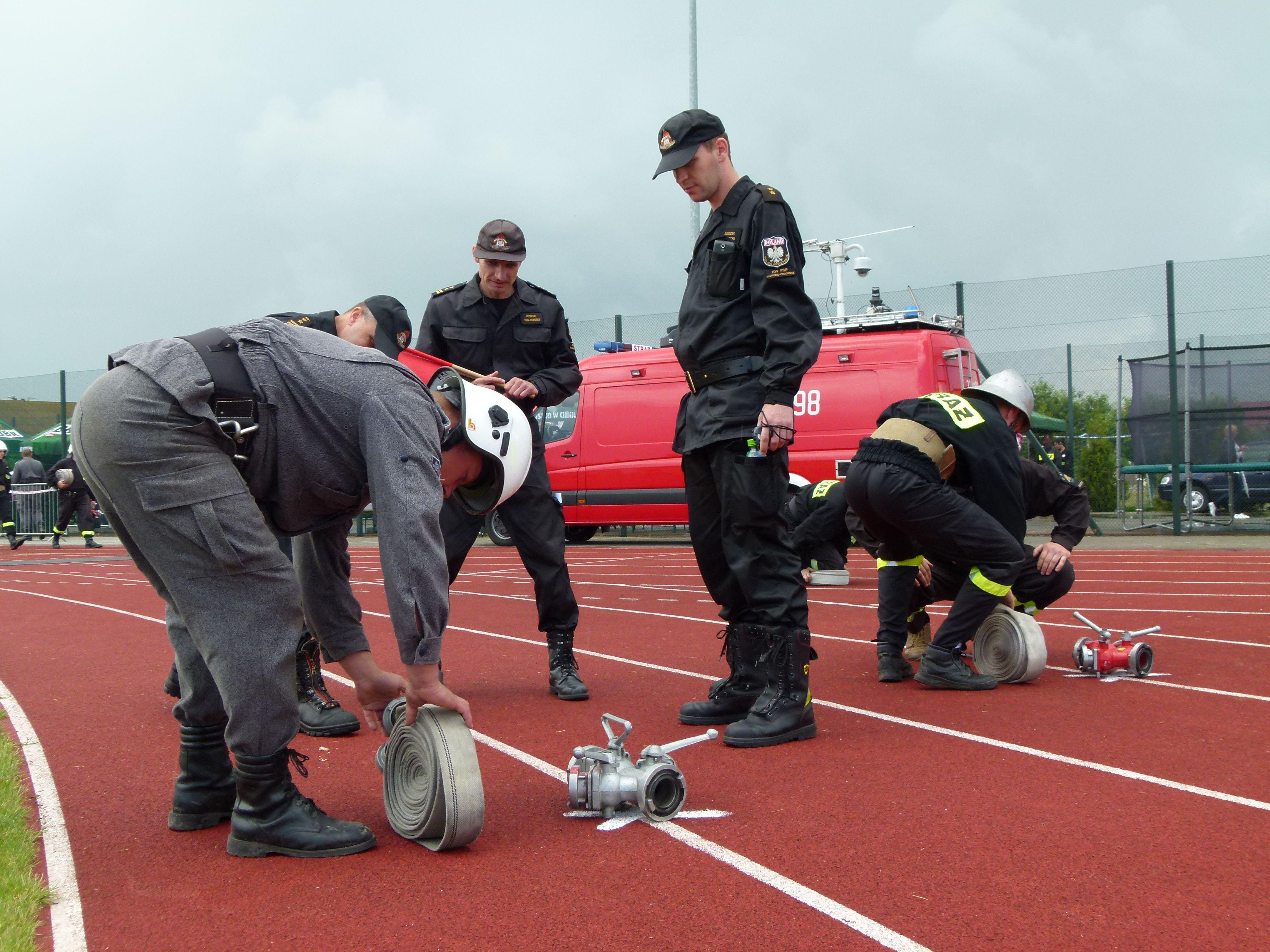 W Baruchowie strażacy zaciekle walczyli o podium. Kto najlepszy?