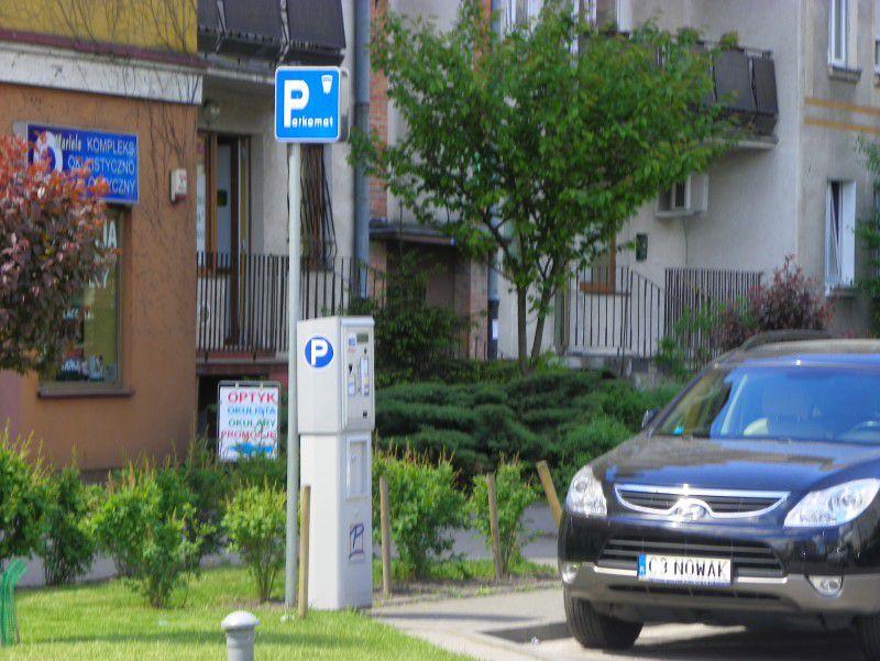 Więcej parkomatów na ulicach Włocławka