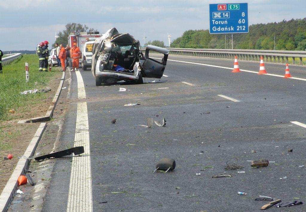 Zaczęło się! Wypadek na autostradzie