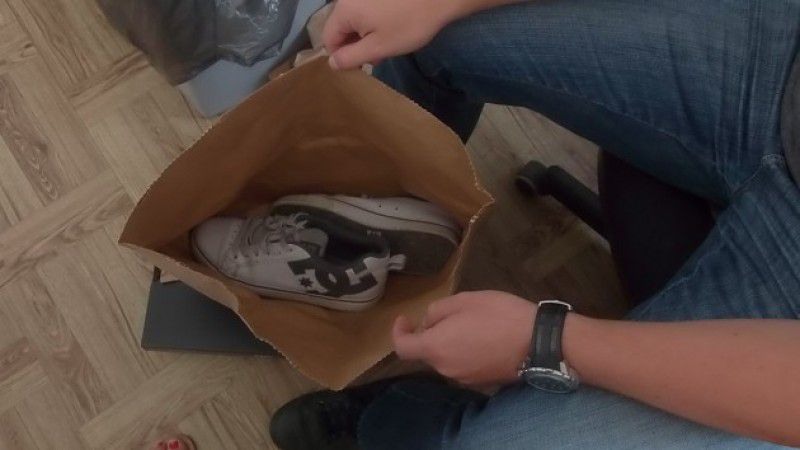 Ze sklepu kradł… buty